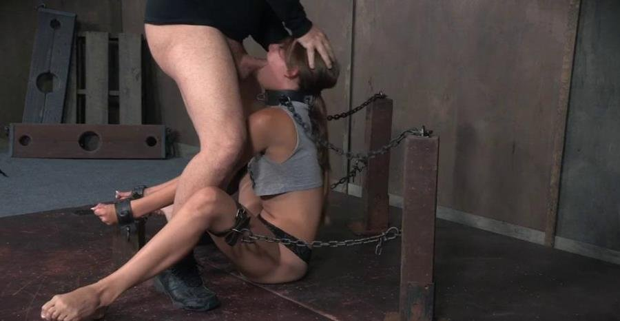 [BDSM / Bondage] - Zoey Lane - Zoey Laine is chained and shackled down. Brutal face fucking and orgasms! Helpless and breathless! (2016 / Sexually Broken / SD)