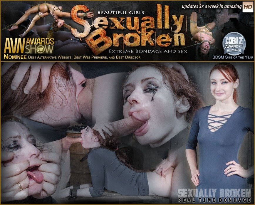 [BDSM / Domination] - Violet Monroe - Violet Monroe BaRS Part 2: The best slut on the planet gets broken and goes into survival mode. (2017 / RealTimeBondage / SD)