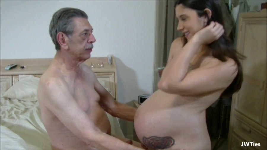 [Incest / Taboo] - Logan Lace - Grandpa Loves Me Pregnant (2015 / Jwties / FullHD 1080p)
