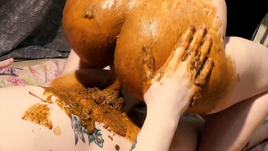 [Scat / Poo] - Dirty Betty - Shitty lubricant, DAT ASS and cum finish (2017 / Scatshop / FullHD 1080p)