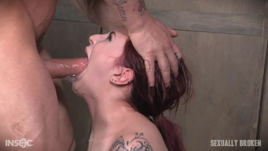 [BDSM / Rough Sex] - Amber Ivy - This girl cums hard and often while bound and helpless (2017 / Sexually Broken / HD 720p)