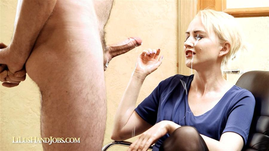 LiLu - LiLu`s HandJob with Huge Ruined Facial (HD 720p/405 MB)