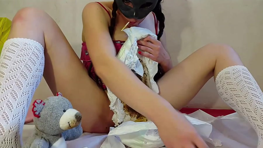 Anna Coprofield - My First Diaper and ABDL Video (FullHD 1080p/1.25 GB)