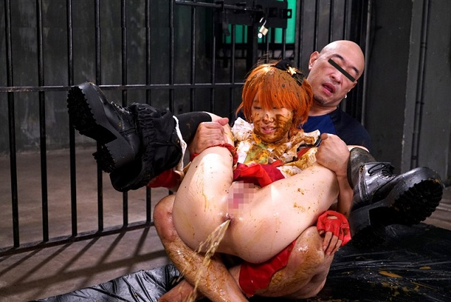 Aoki Rin - [OPUD-239] Cosplay Aoki Rin in captivitys scatology rape , Part 2  (DVDRip/1.49 GB)