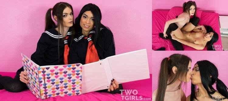 Valentina Mia, Kira Crash - Valentina Mia & Kira Crash - Teen Lesbian Schoolgirls Fuck After Studying (FullHD/1.51 GB)