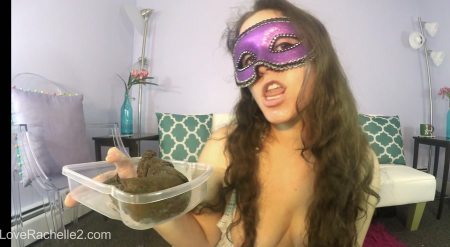 LoveRachelle2 - Lick and EAT This Perfect Poop With Me! (HD 720p/512 MB)