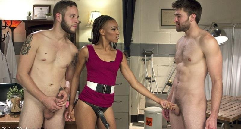 Wolf Hudson, Nikki Darling and Abel Archer - Cuckolding Therapy (HD/1.44 GB)