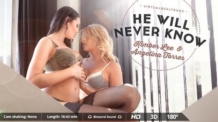 Angelina Torres, KimberLee - Angelina Torres & KimberLee - He Will Never Know (2K UHD/3.50 GB)