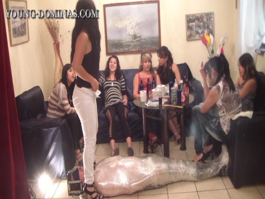 Young-Dominas - Wrapped up and Filled up until he Pukes (FullHD 1080p/4.55 GB)