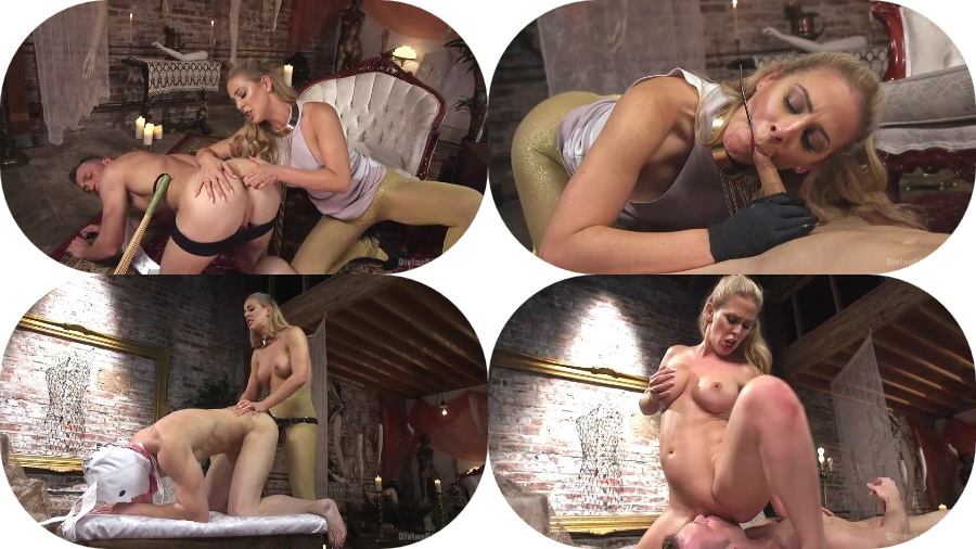 Cherie Deville - Pretty Lil' Fuck Bunny Gets His Dick Sounded and His Ass Fucked by Goddess Cherie Deville (SD/692 MB)