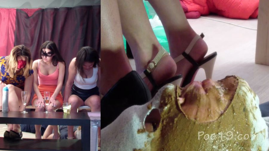 MilanaSmelly - Group use of female toilet slave (HD 720p/1.36 GB)