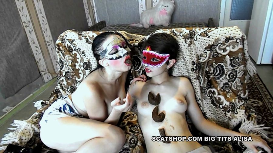 BigTitsAlisa - Tatiana and Alice play with their shit (FullHD 1080p/1.06 GB)