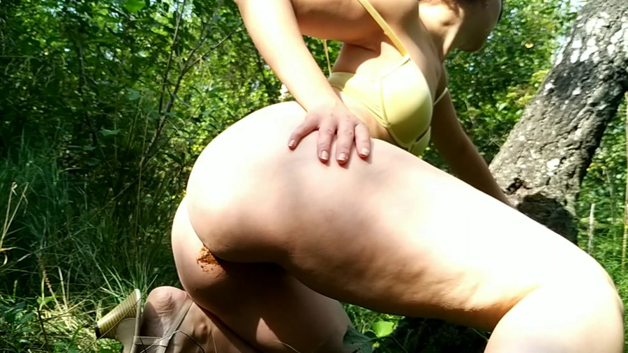 nastygirl - Hot striptease poo and pee in park (FullHD 1080p/847 MB)
