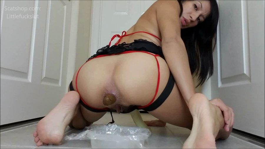 littlefuckslut - Eat My Shit While I Fuck Your Ass (FullHD 1080p/996 MB)