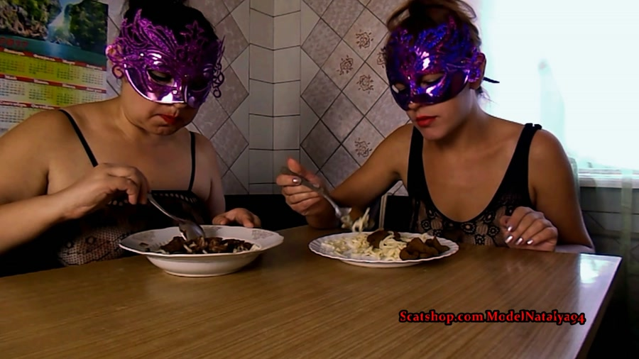ModelNatalya94 - Our Breakfast pasta shit (FullHD 1080p/1.24 GB)