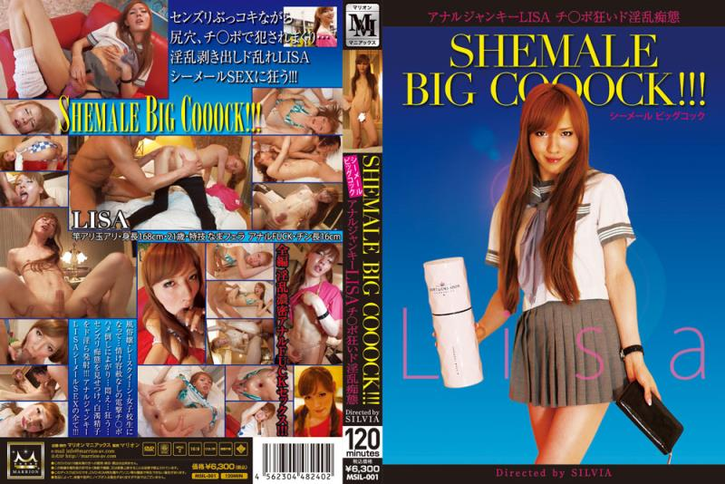 LISA - Shemale Big Cooock!!! featuring the lovely (SD/2.68 Gb)