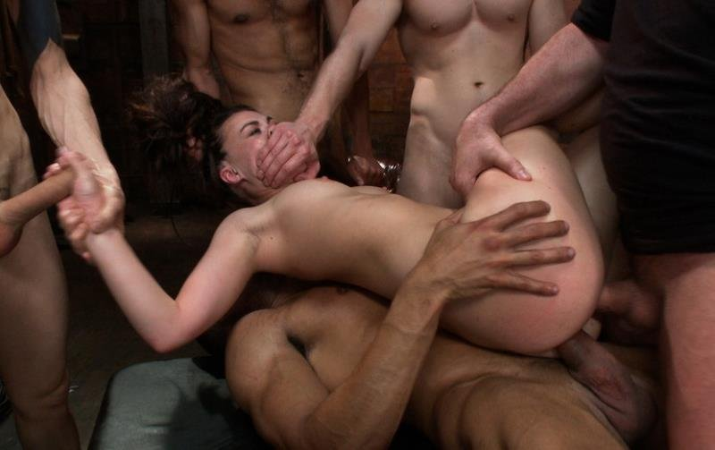 Gang bang facials and internal-7738